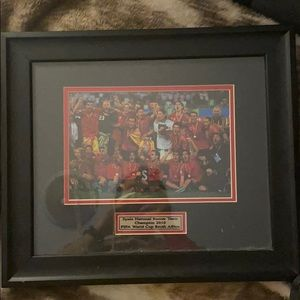 Fifa World Cup Spain 🇪🇸 Champions Frame